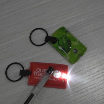 Promotional LED Keyring Torches
