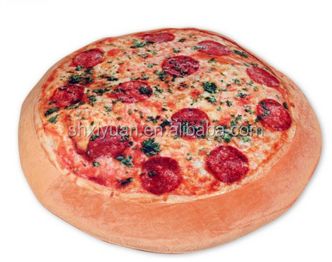 Food Shaped Cushions Plush Pizza Pillows Cushion Pillow Product On
