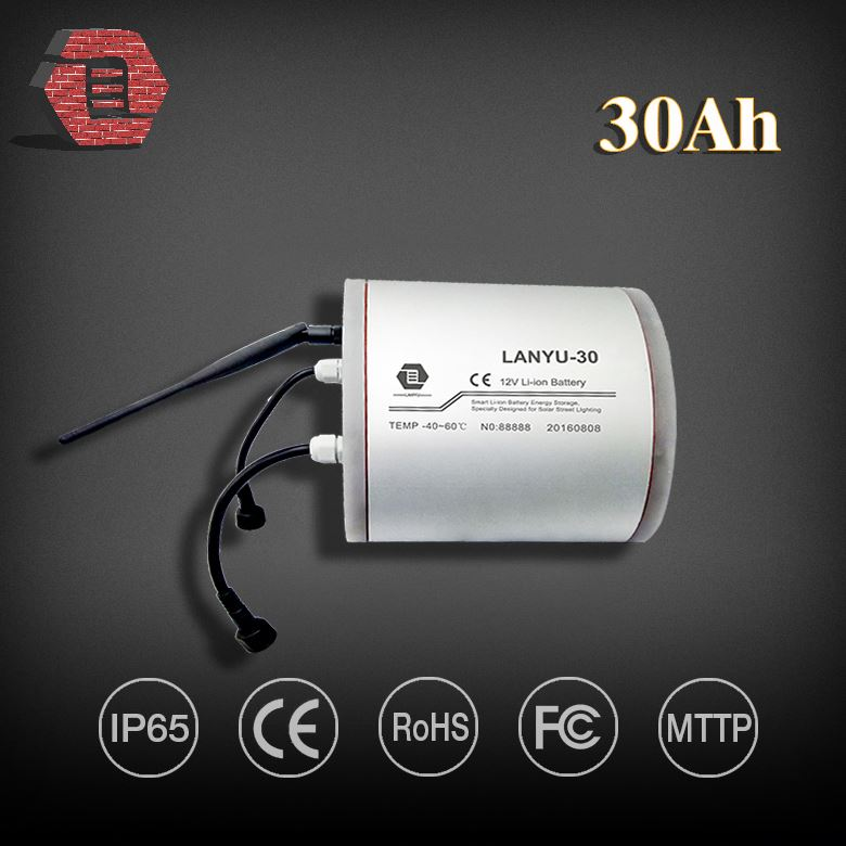 12v 30ah battery good discharge performance lifepo4 18650 batery pack for solar powered street light LYLIBR12V30D477