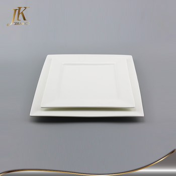 Wholesale Cheap Steak Plates White Porcelain Square Dinner Plate ...