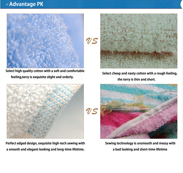 China Wholesale Polyester/cotton Bleached Bath Towel Supplier In ...