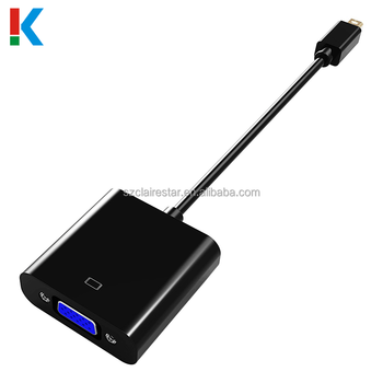Mini dp to vga converter adapter 1080p mini displayport to vga cable for computer dp male to vga female adapter for pc