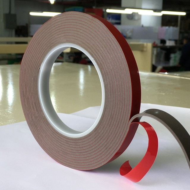 Double sided waterproof strong adhesive acrylic foam VHB tape