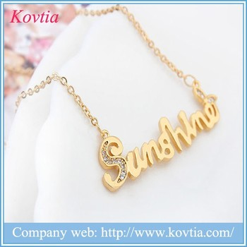 Hip hop jewelry letter pendant necklace gold chain necklace designs hip hop jewelry letter pendant necklace gold chain necklace designs aloadofball Image collections