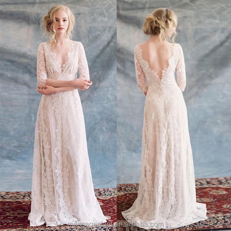 Venta al por mayor vestidos novias sencillos-Compre online los ...