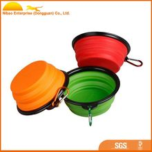 Grade Silicone Travel Pet Food and drinking Bowl Matching Buckles