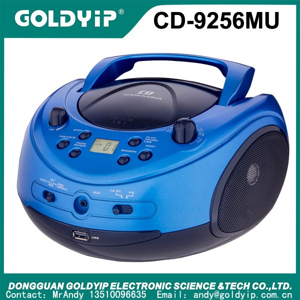 Portable Sport Boombox Cd Player With Fm Am Radio And Digital ...