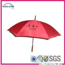 High Quality Portable Folding Wooden Handle Beach Umbrella