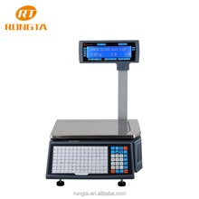 30kg digital commercial electronic barcode weighing scales