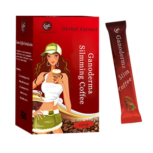 Lifeworth private label slimming black ganoderma coffee with exclusive formula