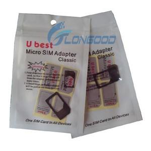 Micro Dual Sim Card Adapter for iPhone 4G iPad
