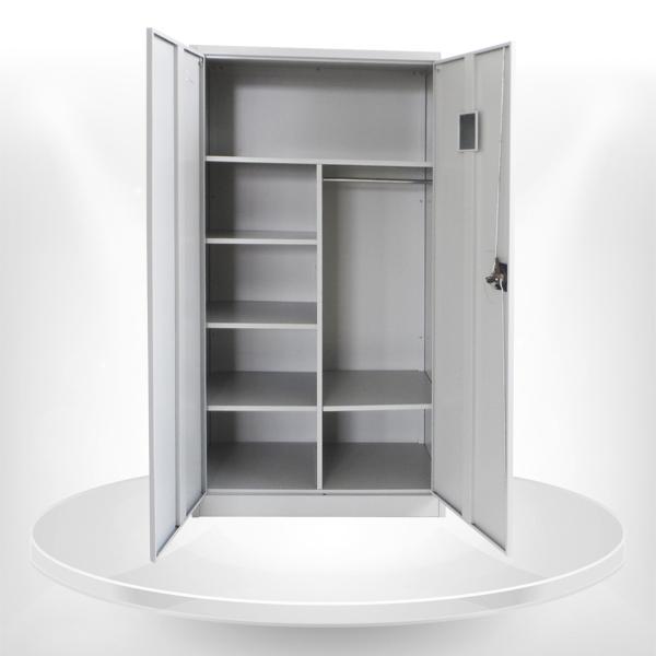 2 puerta de acero ropa del armario ropero local de ikea-Otros ...