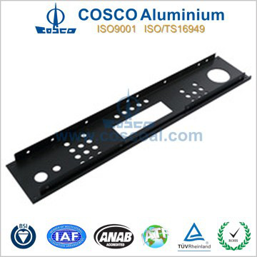 aluminium car audio front panel