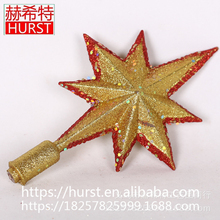 Hot Selling Christmas Decorations Fashion Design Christmas Tree Top Star