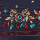 Embroidered Shawls Hijab Shawls Wholesale Cotton Sun Flowers Embroidered Muslim Ethnic Style Rural Ladies Hijabs Scarfs Stoles Shawls