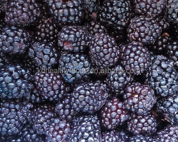 High Quality Bulk Pack IQF Frozen Blackberries
