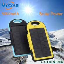 zk30 Portable Powerbank External Energy Battery Charger Solar Power Bank 5000mAh Waterproof Mobile Backup