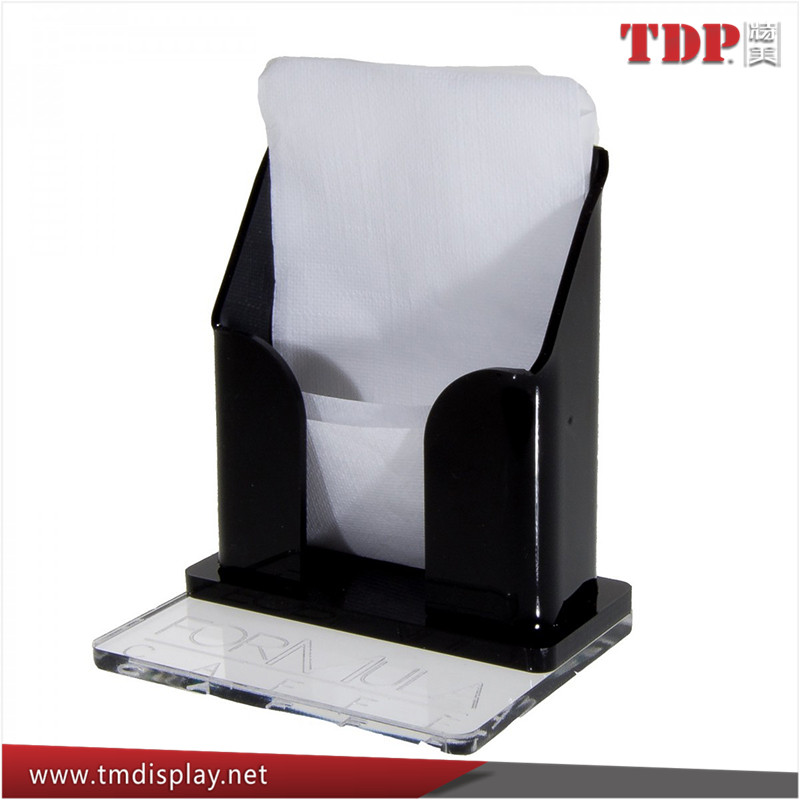 Manufacturer Clear and Coloured Acrylic Napkin Holder, Acrylic Table Napkin Holder Tissue Box
