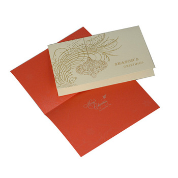 laser cutting luxury business postcard christmas card buy