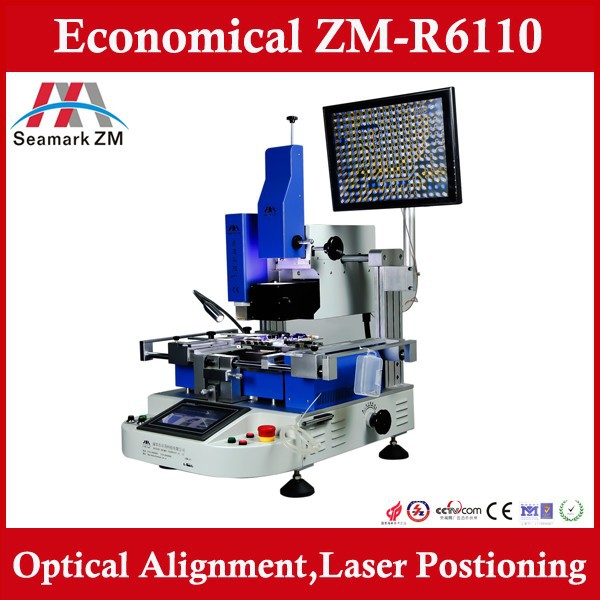 ZM R6110 upgraded from smd bga rework station zm-r6808 with optical