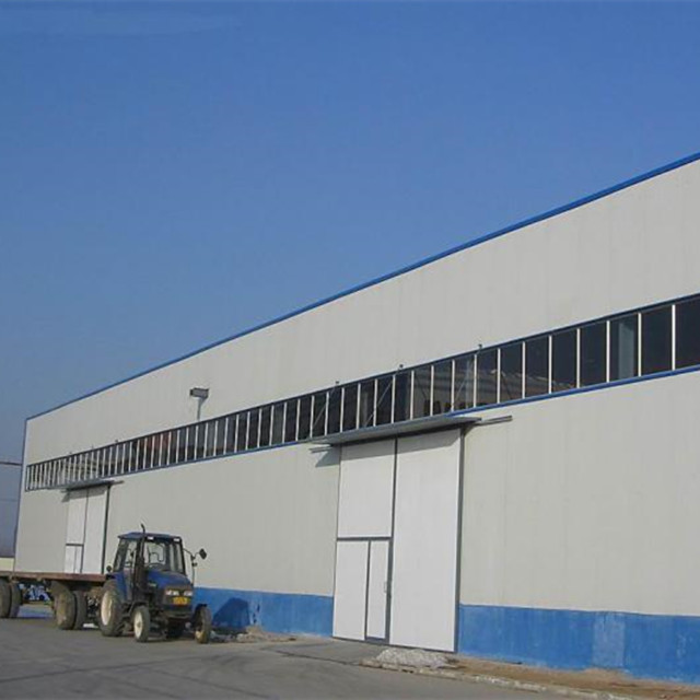 Low Cost Prefabricated Houses High Quality Prefab Structural Steel  Fabrication Portal