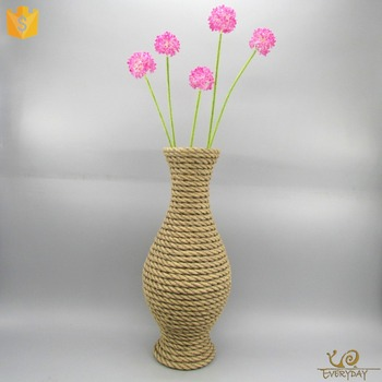 The Big Size Resin Tall Centerpiece Flower Vase Home Goods