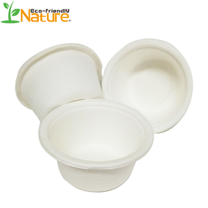 2018 Hot Sale Biodegradable 2OZ Sugarcane Coffee Paper Cup