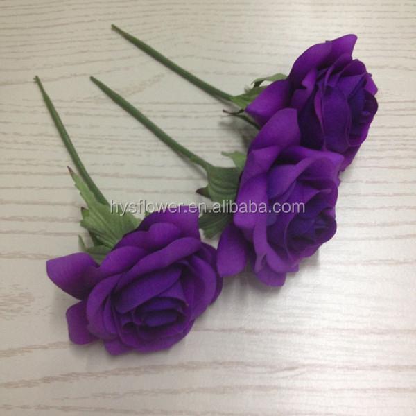 "2.5""cheap Artificial Flower Making Latex Rose Head Handmade Fabric ..."