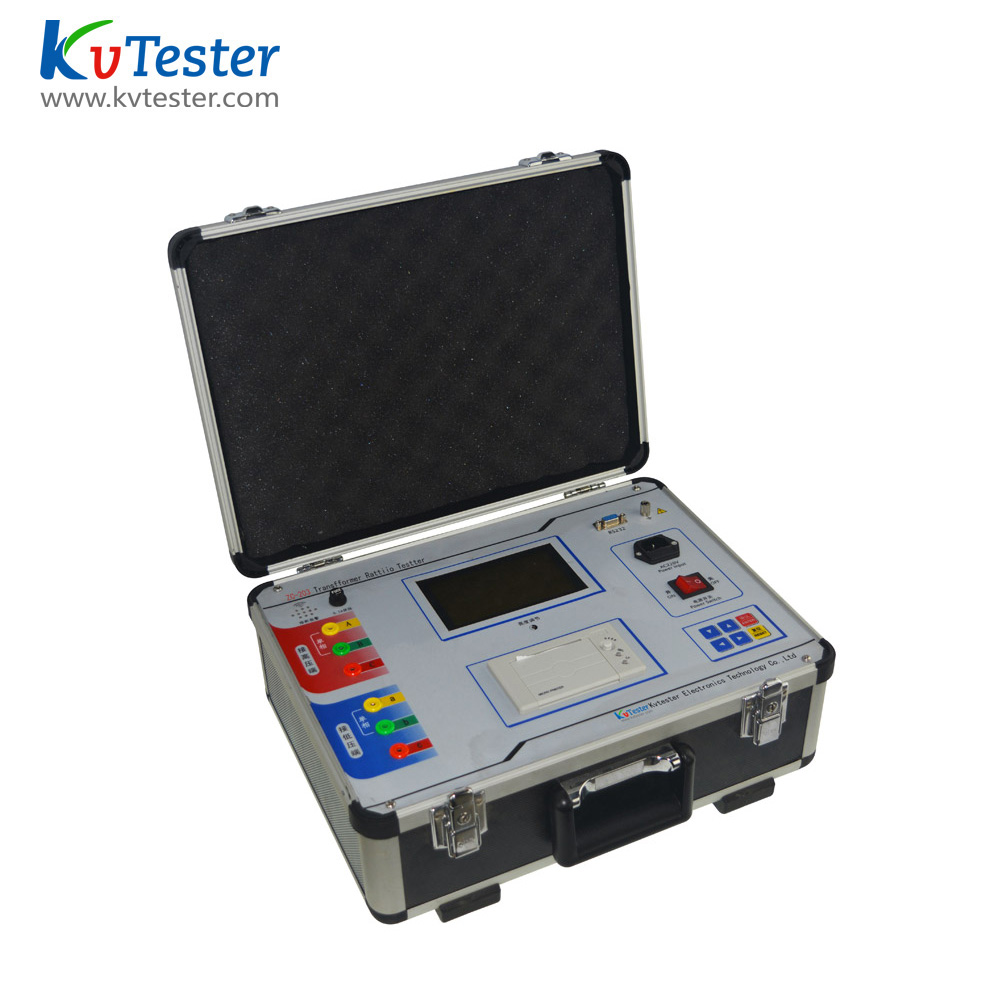 Single phase and three phase transformer turn ratio tester