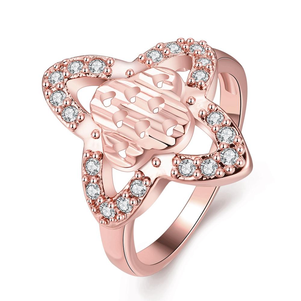 Fine Arts Style Japan And Korea Stylish Fashion Vintage Rose Gold ...
