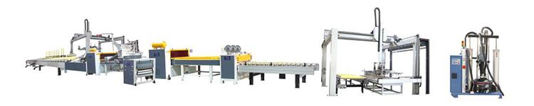Semi Automatic Printing Paper PUR Hot Roll MDF Wood Door Laminating Machine