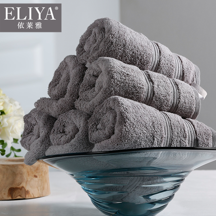 Hotel bath towels supplier in pakistan dobby hotel embroider towel set,hyatt hotel washing towel