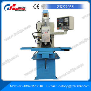 Sale Factory Bench CNC Drilling and Milling Machine ZXK7035 (milling and drilling machine)(cnc milling machine)