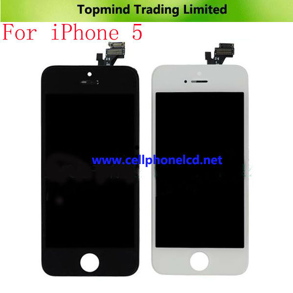 Mobile Phone Spare Parts for iPhone 5 LCD Digitize