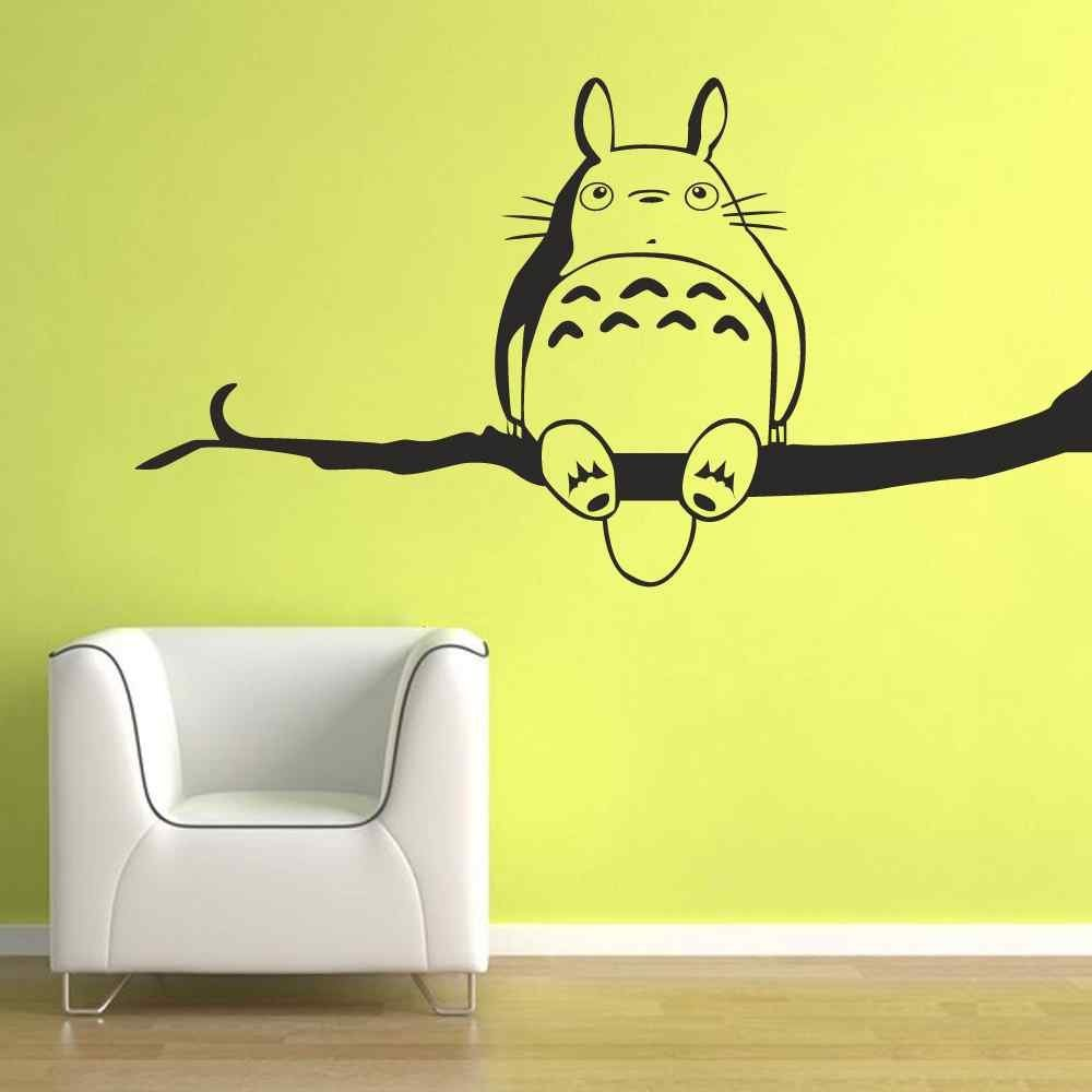 Get Quotations · BATTOO My Neighbor Totoro Wall Decal Vinyl Wall Art Kids  Room Playroom Wall D¨¦