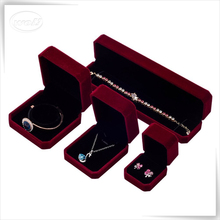 Leather Jewelry Packaging Set Box Wholesale Plastic Ring Necklace Bracelet Box