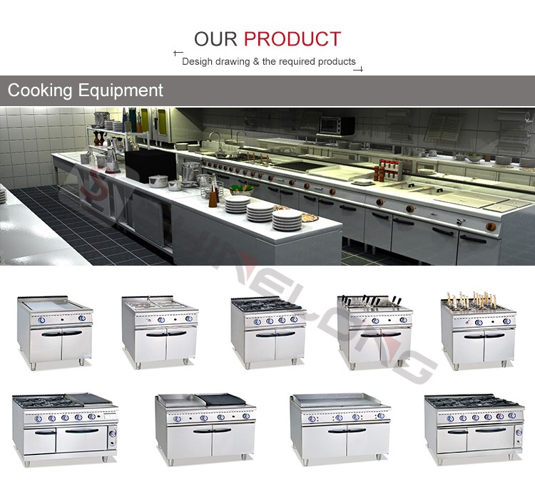 European Performance Commercial Used Restaurant Kitchen