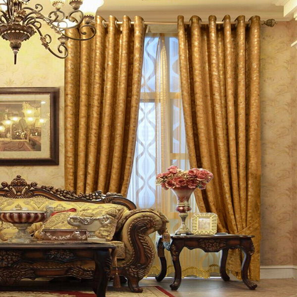 Ready Made Wholesale Market Velvet Fabric Curtain In China - Buy ...