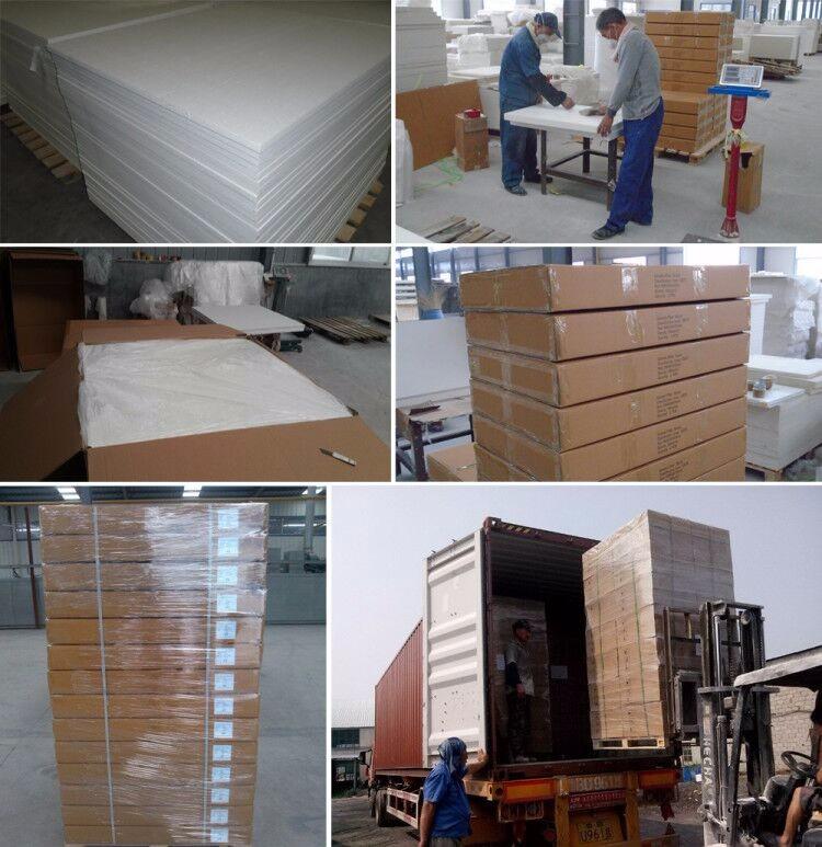 1260 Ce Certificate Ceramic Fiber Plate 50mm Board Alumina