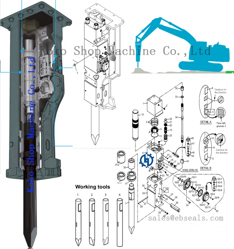 Hydraulic Breaker EB175 Chisel OD175mm for 40-55T Excavator ... on overdrive schematic, pressure washer schematic, simple distortion pedal schematic, excavator schematic, flashlight schematic, bulldozer schematic, generator schematic, rpd schematic, compressor schematic, computer schematic, bobcat schematic, pressure regulator schematic, paver schematic, aqueduct schematic, m4 schematic, backhoe schematic, ak-47 schematic, boost pedal schematic, trailer schematic, joystick schematic,