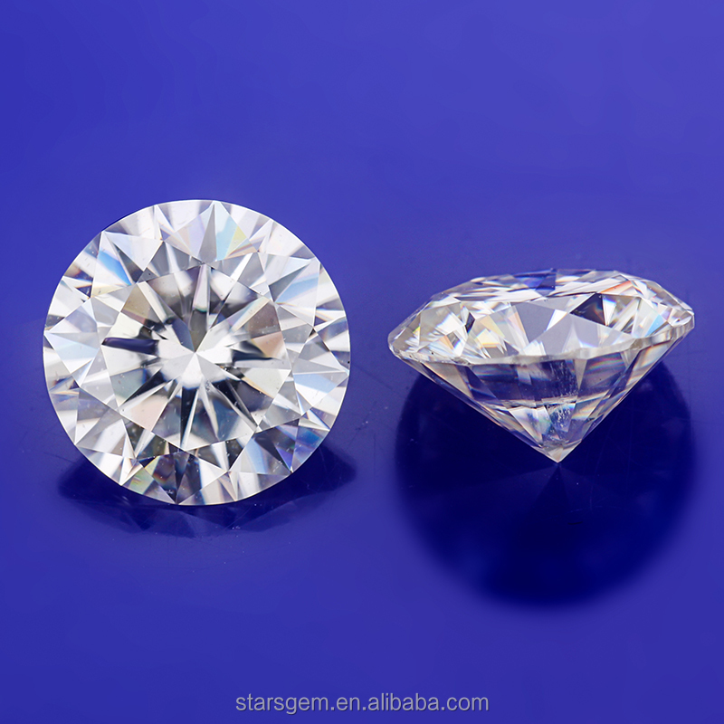 Clarity VVS DEF colorless white round brilliant cut 7mm 1.2carat moissanite gem <strong>stones</strong>