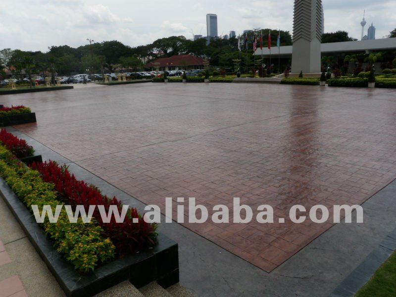 Cobblecrete Concrete Imprint