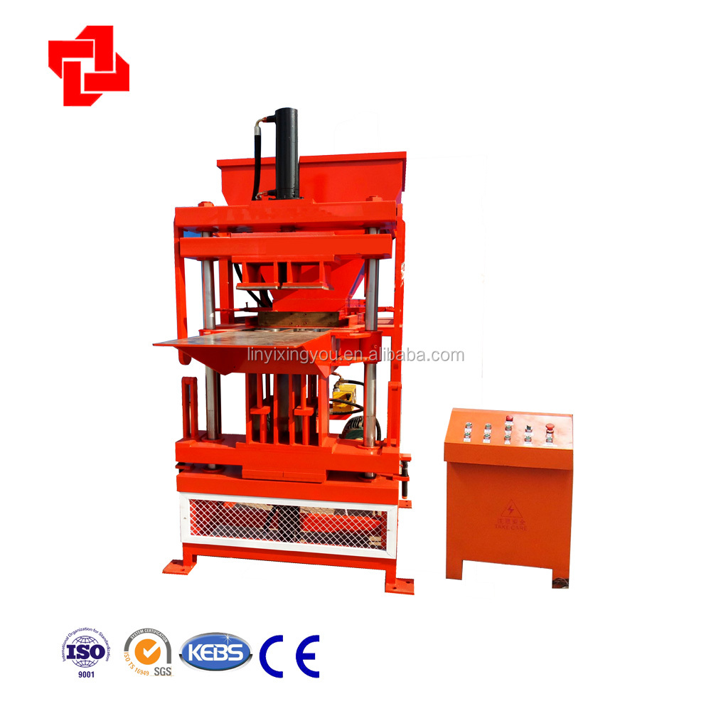 clay block moulding equipment XYM2-10 good clay block machine price