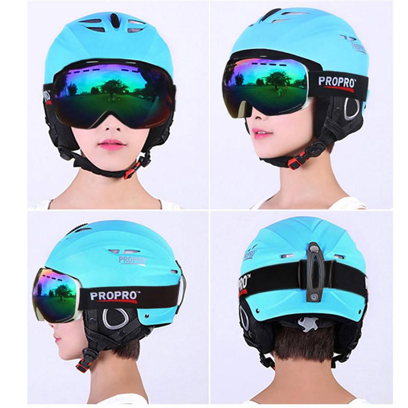 CE European Standard Snow Sports Protective Gear Ski Helmet for Skiing snowboarding