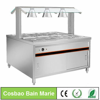 BN B07 Cosbao Catering Vending Stainless Steel Buffet Table