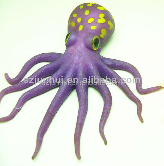 lifelike sea animals squishy octopus 2015 new toys for kid