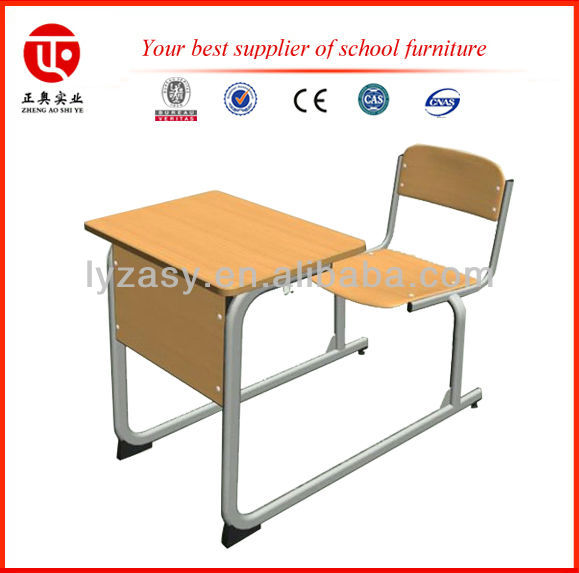 Single Seat Height Adjustable Kids Study Table and Chair/Kids Learning Desk