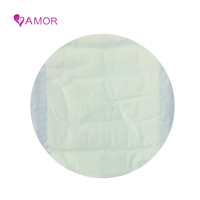 Negative ion color sanitary napkin pad adhesive for female with factory price