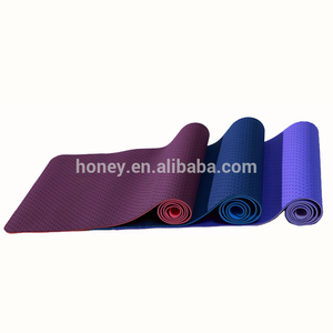 TPE yoga mat with air hole, comfortable and ventilate