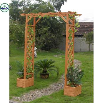Hl180 Élégant Top Qualité En Bois Arche De Jardin Tonnelle De Jardin - Buy  Arches En Bois,Arche De Jardin En Bois,Tonnelle De Jardin Product on ...